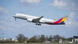 Asiana starts A350 flights with Panasonice IFE