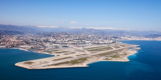 Nice Côte d'Azur airport now on Apple Maps