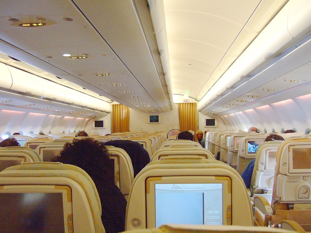 Etihad Airways onboard connectivity