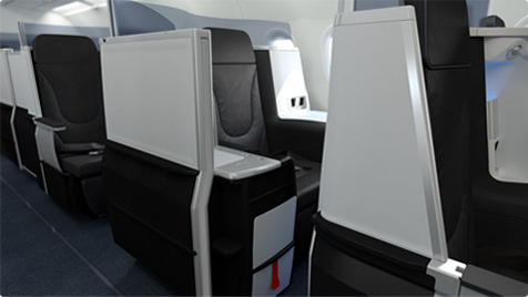 JetBlue new premium transcontinental seat