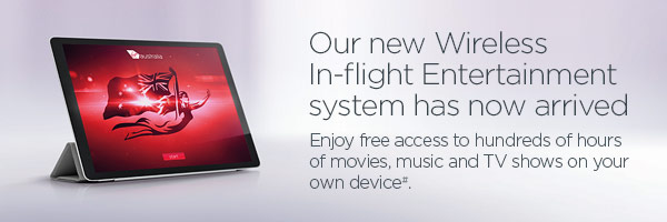 Virgin Australia introduces new inflight entertainment system