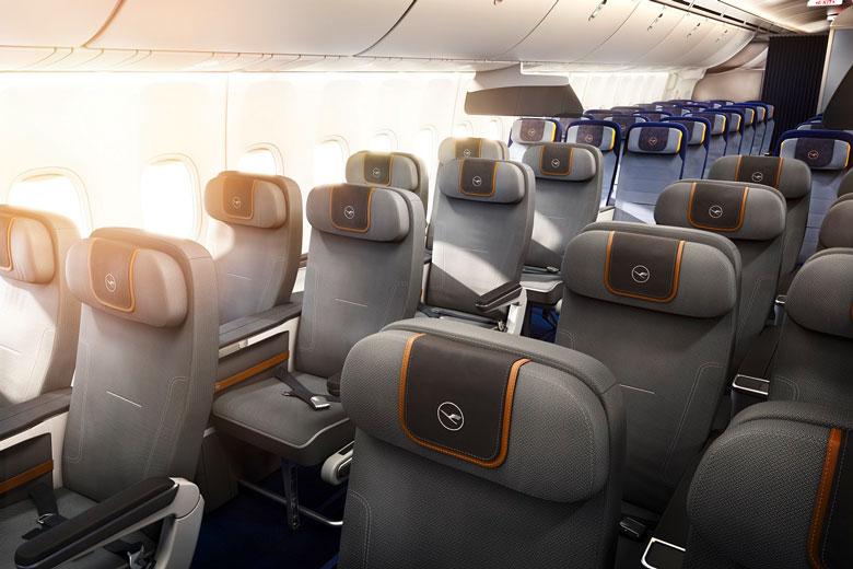 Lufthansa Premium Economy cabin