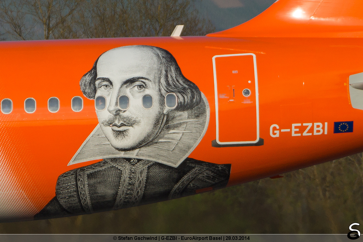 easyJet works Shakespeare day