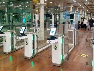 ABC eGates installed at St. Pancras International rail station