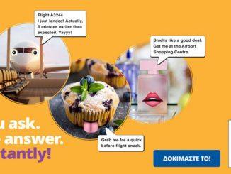 Athens Airport implements a bot app through Facebook Messenger