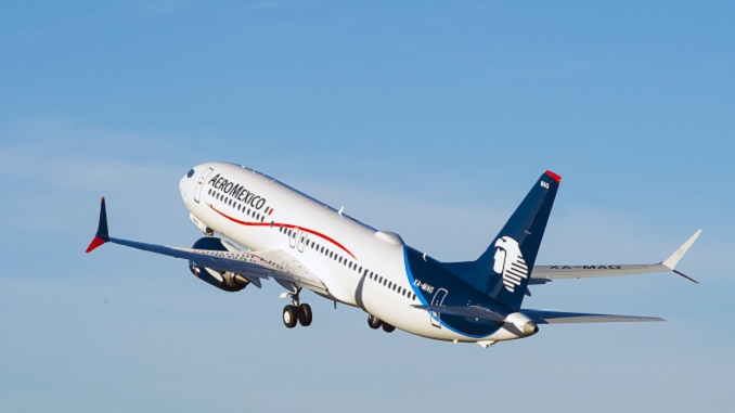 Aeromexico's first Boeing 737 MAX