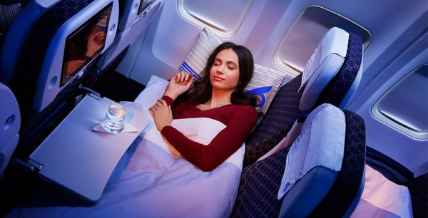 Air Astana Economy Sleeper