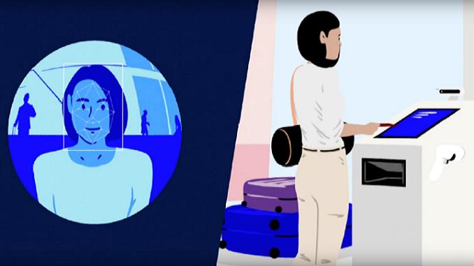 Air France biometric boarding trial