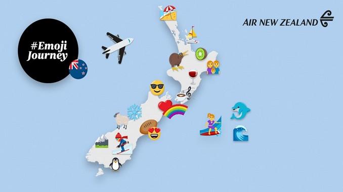 Air New Zealand emoji jpurney
