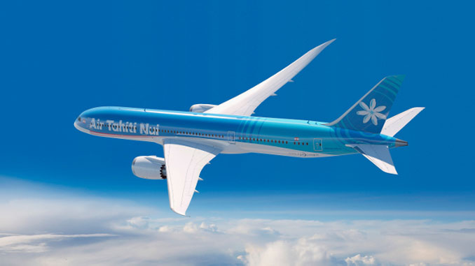 Air Tahiti Nui equips Dreamliners with Panasonic IFEC