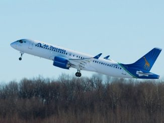 Air Tanzania first Airbus A220