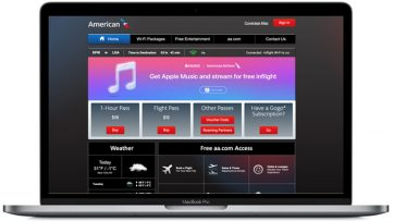 American Airlines offers Apple Music