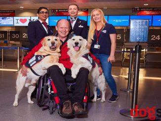 British Airways most furry frequent flyer