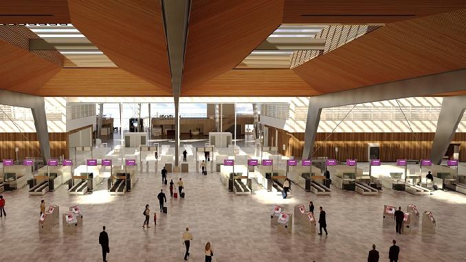 Bergen Airport new terminal
