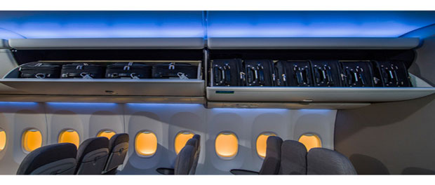 Alaska takes delivery of first 737 with Boeing Space Bins