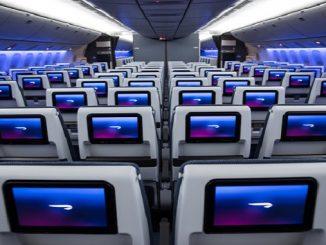 British Airways 777 World Traveller