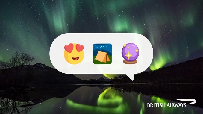 British Airways adds emojis to its chatbot