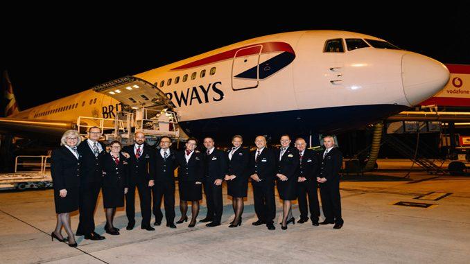 British Airways last 767 flight