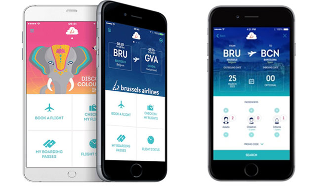 Brussels Airlines launches its mobile app