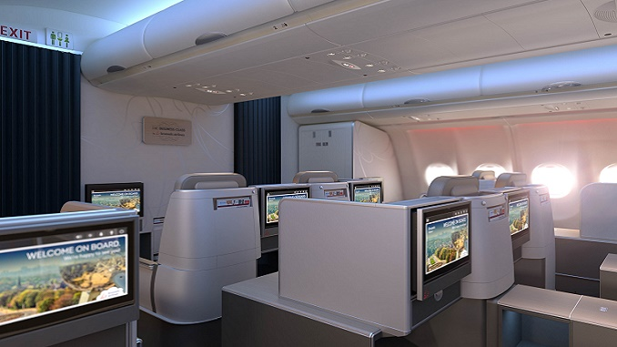 Brussels Airlines new long-haul Business Class