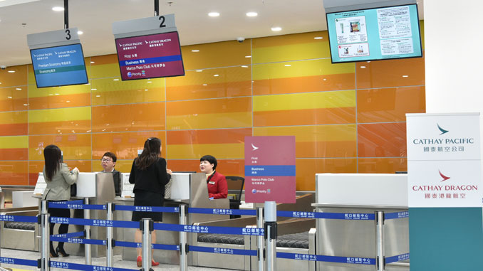 Cathay opens dedicated check-in at Shenzhen Shekou