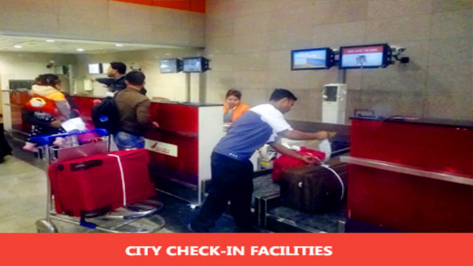 Passenger check-in at Delhi Metro stations