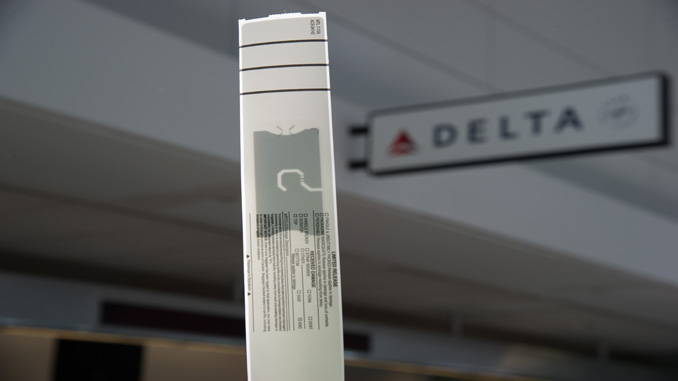 Delta introduces RFID baggage tracking