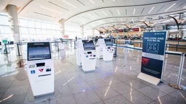 Delta biometric check-in