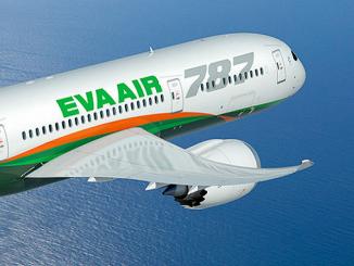 EVA Air Boeing 787