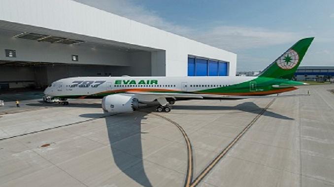 EVA Boeing 787-9