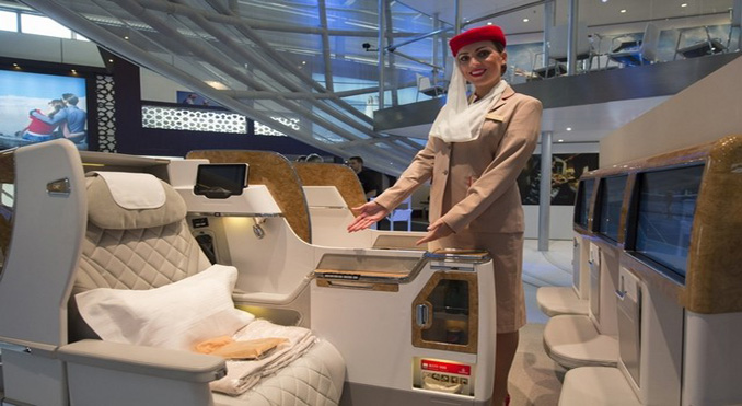 Emirates reveals new 777 Business Class seat
