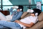 Emirates trials virtual reality headsets in its Dubai lounges