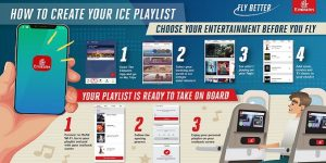 Emirates introduces entertainment playlist syncing ahead of travel
