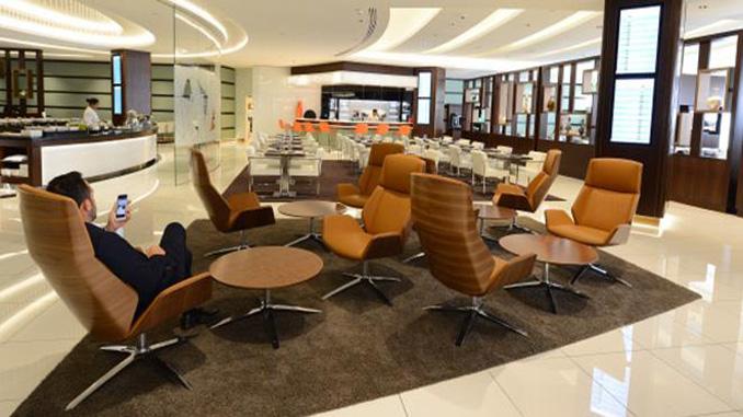 Etihad Airways' new premium lounge opens at Melbourne