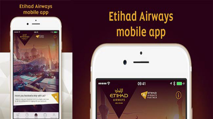 Etihad launches mobile app for iPhone