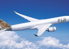 Fiji Airways takes delivery of its first A350 XWB