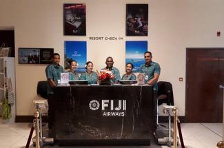 Fiji Airways unveils 'Resort Check-in' feature