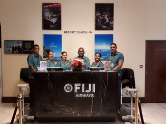 Fiji Airways Resort check-in