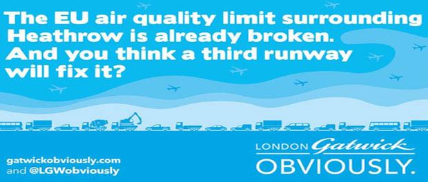 Gatwick CEO questions Heathrow claims again