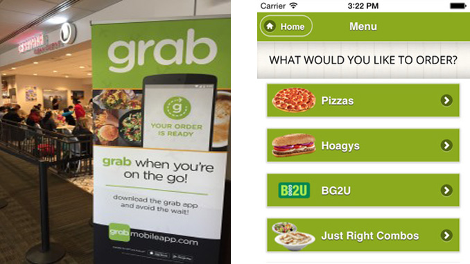Grab mobile ordering at three more US airports