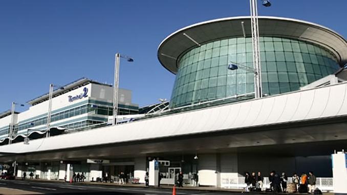 Tokyo Haneda terminal