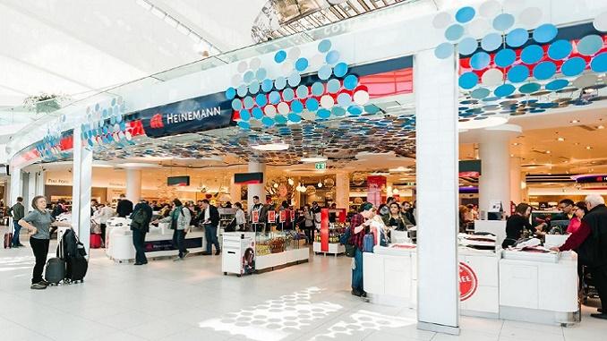 Heinemann Duty Free at Budapest Airport
