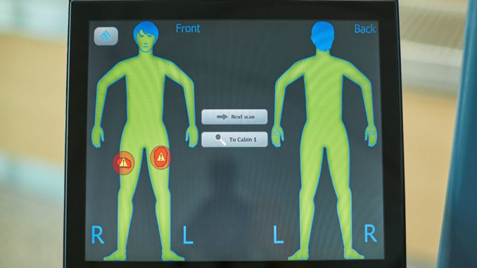 Helsinki Airport trials new body scanner