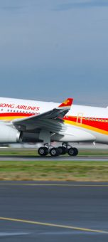 Hong Kong Airlines to add in-flight connectivity from Aerkomm