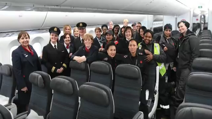 International Women's Day 2018 - Air Canada