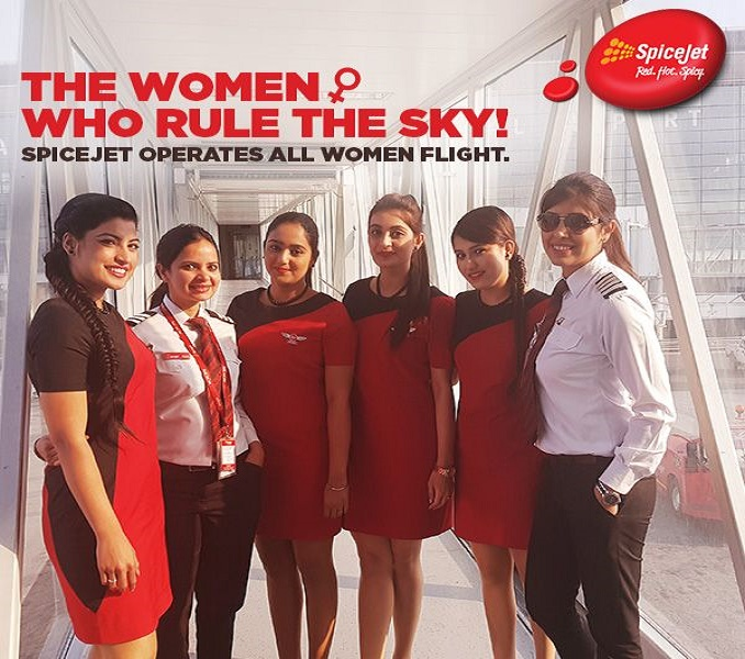 International Women's Day - SpiceJet