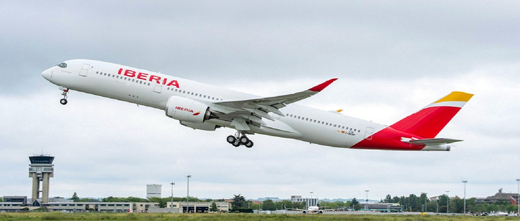 Iberia first Airbus A350-900