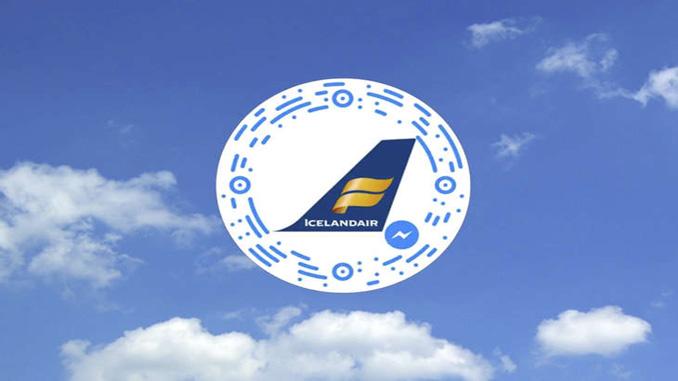 Icelandair offers Flight Bookings through Facebook Messenger