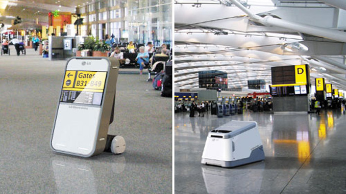 Robots are going to work at Incheon Airport