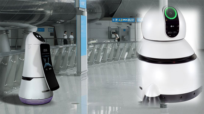 Robots arrive at Seoul's Incheon Airport
